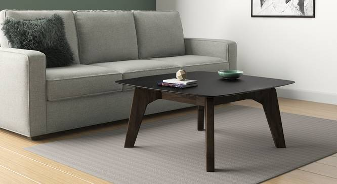 Galaxy Square Coffee Table (American Walnut Finish) by Urban Ladder - Design 1 Full View - 314146