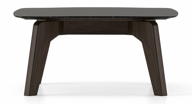 Galaxy Square Coffee Table (American Walnut Finish) by Urban Ladder - Front View Design 1 - 314147