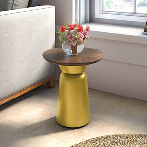 Rostrum Side Table (Tall Size) by Urban Ladder - Full View - 317618