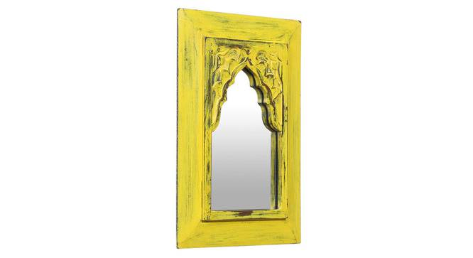 Cora Wall Mirror (Yellow) by Urban Ladder - Rear View Design 1 - 314241