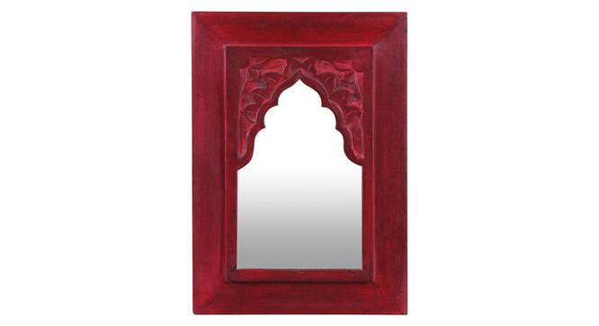 Cora Wall Mirror (Red) by Urban Ladder - Front View Design 1 - 314243