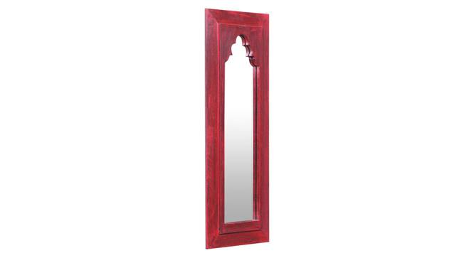 Thea Wall Mirror (Red) by Urban Ladder - Design 1 Side View - 314250