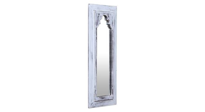 Thea Wall Mirror (White) by Urban Ladder - Design 1 Side View - 314253
