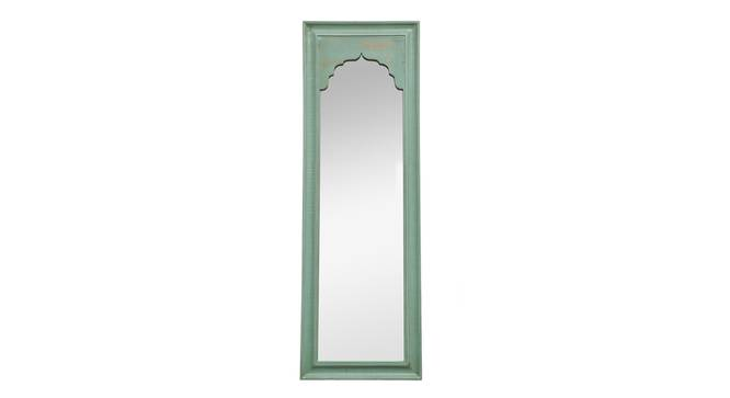 Ava Wall Mirror (Green) by Urban Ladder - Front View Design 1 - 314265