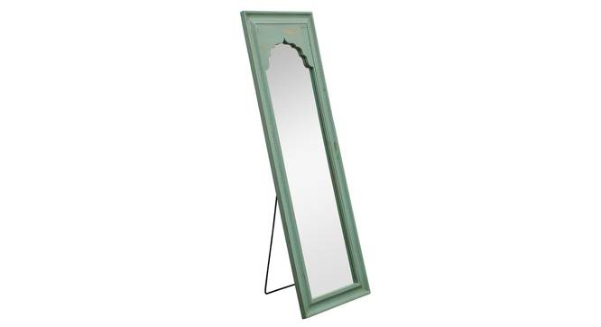 Ava Wall Mirror (Green) by Urban Ladder - Design 1 Side View - 314266
