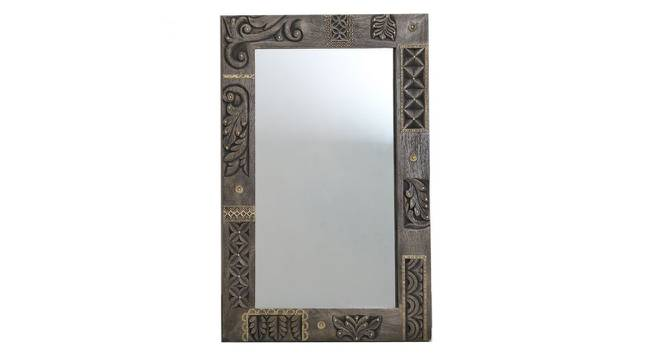Viktor Wall Mirror (Natural) by Urban Ladder - Front View Design 1 - 314277