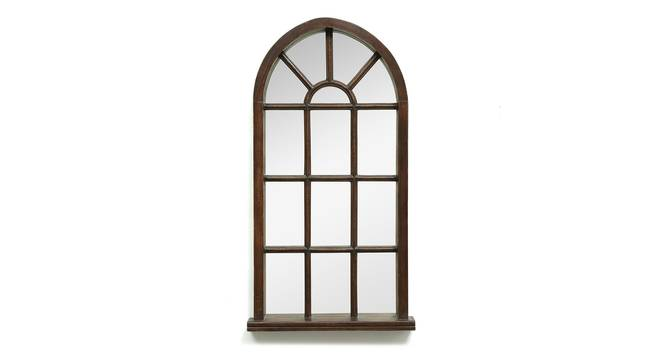 Oriel Wall Mirror (Natural) by Urban Ladder - Front View Design 1 - 314279