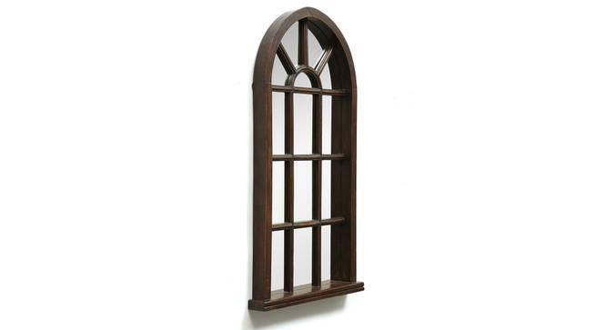 Oriel Wall Mirror (Natural) by Urban Ladder - Design 1 Side View - 314280