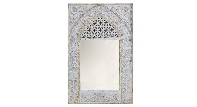 Imrana Wall Mirror (Natural) by Urban Ladder - Front View Design 1 - 314283