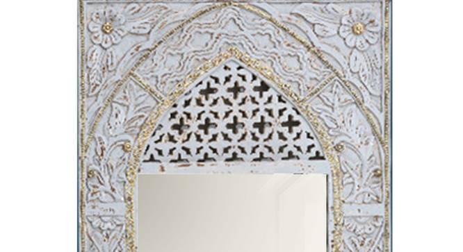 Imrana Wall Mirror (Natural) by Urban Ladder - Design 1 Side View - 314284