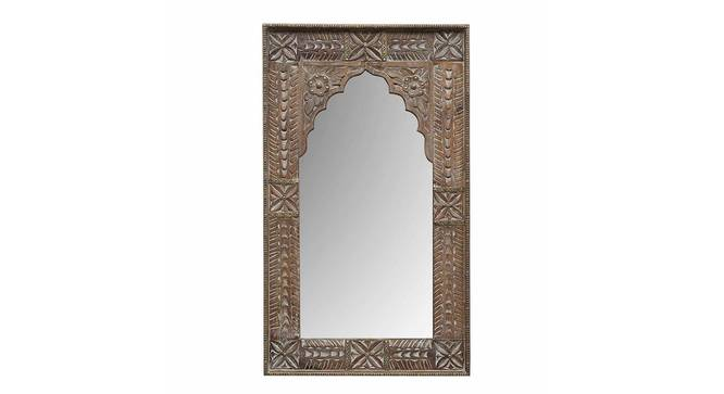 Imaan Wall Mirror (Natural) by Urban Ladder - Front View Design 1 - 314286