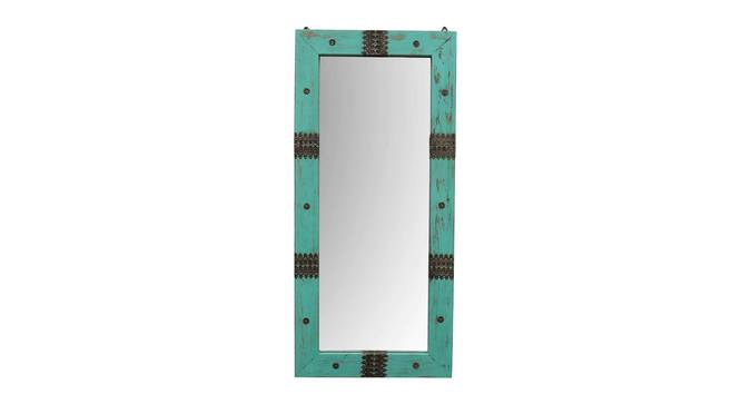 Argus Wall Mirror (Teal) by Urban Ladder - Front View Design 1 - 314293