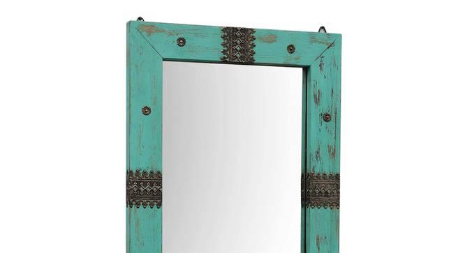 Argus Wall Mirror (Teal) by Urban Ladder - Rear View Design 1 - 314294