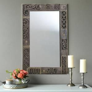 Viktor Wall Mirror (Natural) by Urban Ladder - Design 1 - 314301
