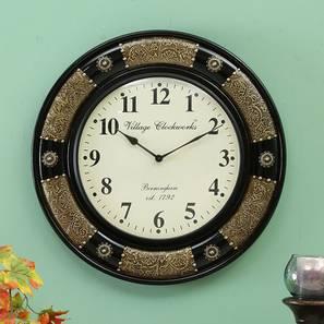 Bohr wall clock brass lp