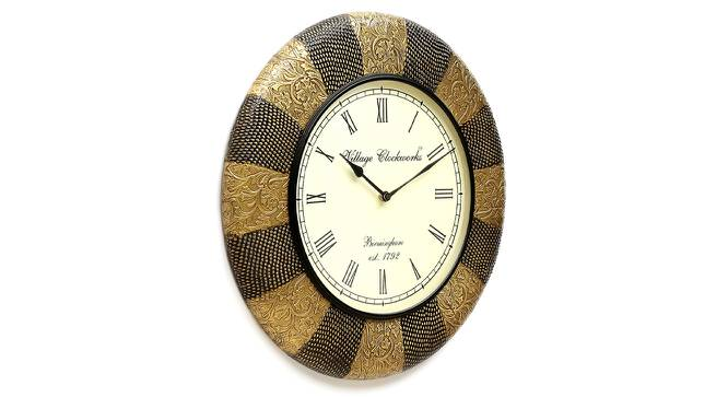 Planck  Wall Clock (Brass) by Urban Ladder - Design 1 Side View - 314319