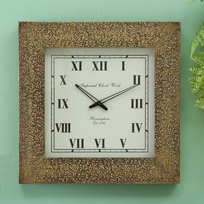 Penrose  wall clock brass lp