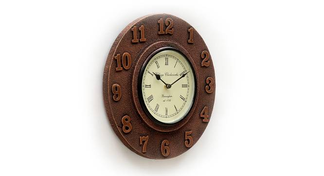 Rovelli  Wall Clock (Brown) by Urban Ladder - Design 1 Side View - 314344