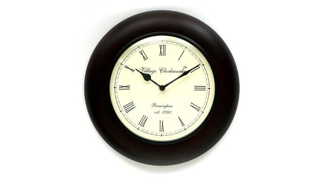 Paul  Wall Clock (Matt Black) by Urban Ladder - Front View Design 1 - 314353