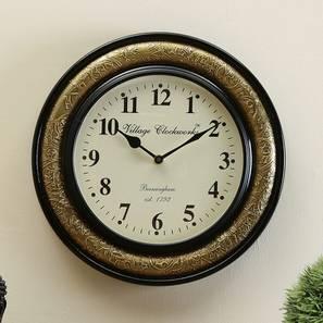 Weinburg  Wall Clock (Brass) by Urban Ladder - Design 1 - 314367