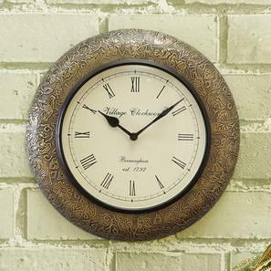 Arnold wall clock brass lp