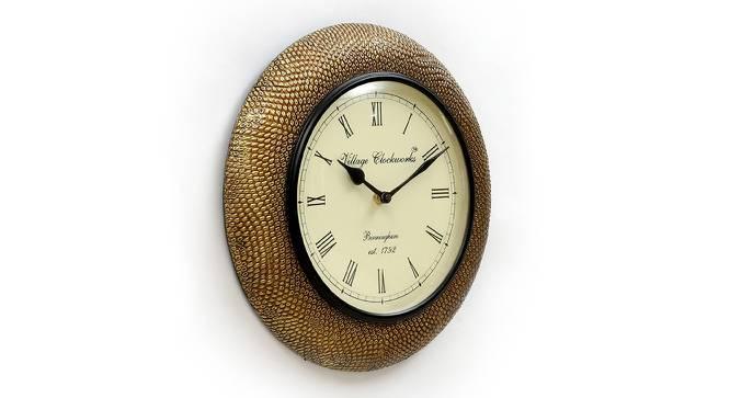 Dyson  Wall Clock (Brass) by Urban Ladder - Design 1 Side View - 314389