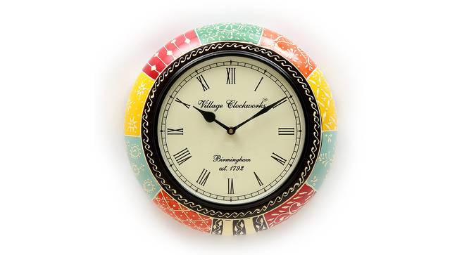 Anton  Wall Clock by Urban Ladder - Front View Design 1 - 314398