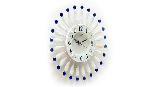 Clauser  Wall Clock (White) by Urban Ladder - Design 1 Side View - 314409