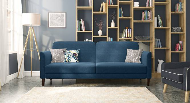Felicity Sofa Cum Bed (Delft Blue) by Urban Ladder - Full View - 314412