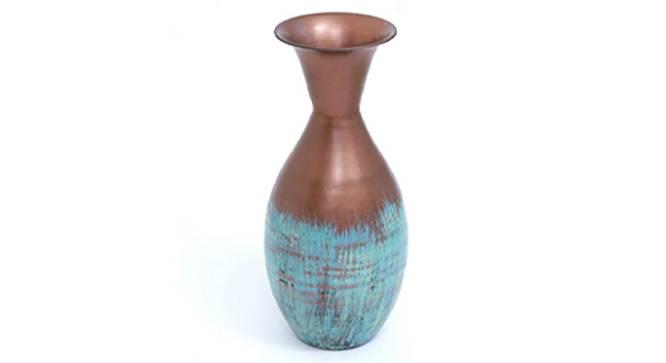 Mira Round Vase (Floor Vase Type) by Urban Ladder - Front View Design 1 - 314622