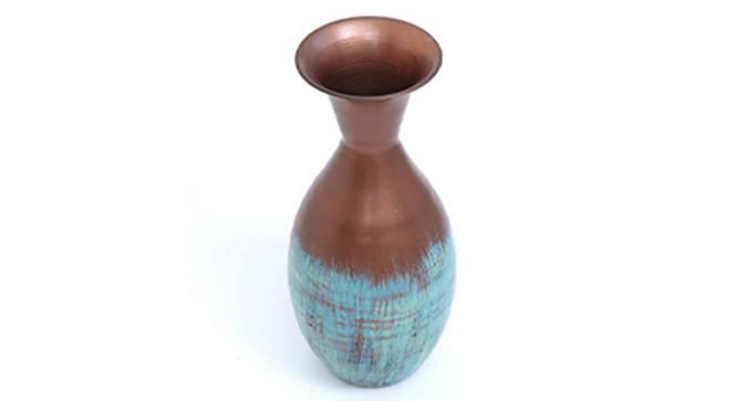 Mira Round Vase (Floor Vase Type) by Urban Ladder - Design 1 Side View - 314623
