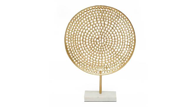 Subh Showpiece (Gold) by Urban Ladder - Front View Design 1 - 314647