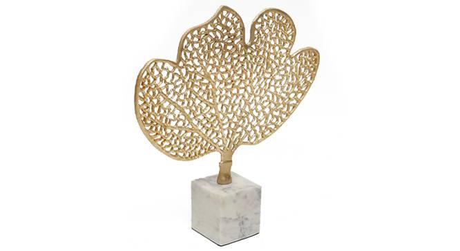 Vela Showpiece (Gold) by Urban Ladder - Design 1 Side View - 314656