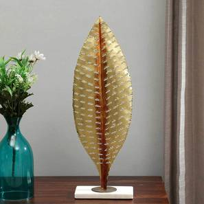 Nami Leave Showpiece (Gold, Big Size) by Urban Ladder - Design 1 - 314674
