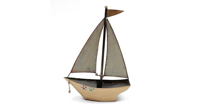 Sally Boat Showpiece (Gold) by Urban Ladder - Front View Design 1 - 314682