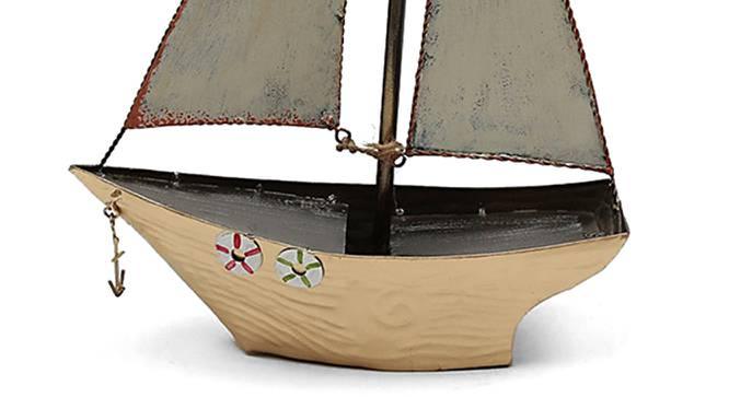 Sally Boat Showpiece (Gold) by Urban Ladder - Design 1 Side View - 314683
