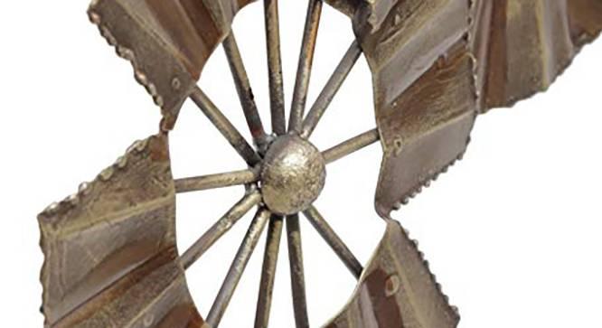 Hand Fan Showpiece by Urban Ladder - Design 1 Side View - 314734