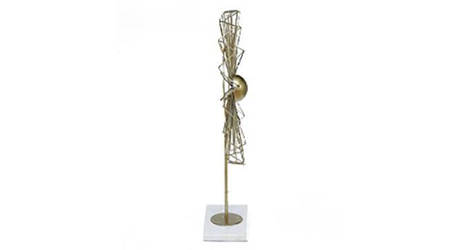 Grapevine Showpiece (Gold) by Urban Ladder - Design 1 Side View - 314761