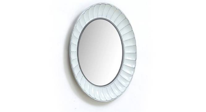 Como Big Wall Mirror (White) by Urban Ladder - Design 1 Side View - 314803