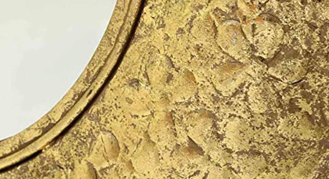 Hamlet Wall Mirror (Gold) by Urban Ladder - Design 1 Side View - 314815