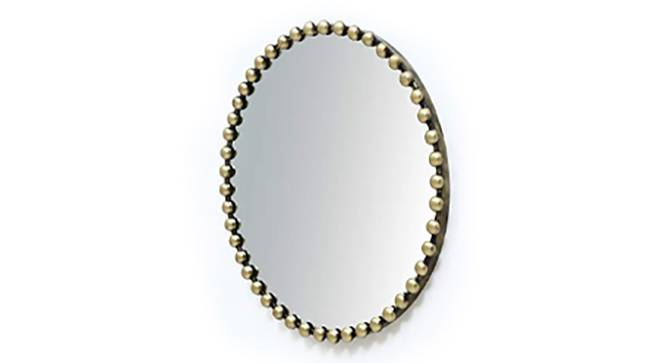 Leela Wall Mirror (Gold) by Urban Ladder - Front View Design 1 - 314822