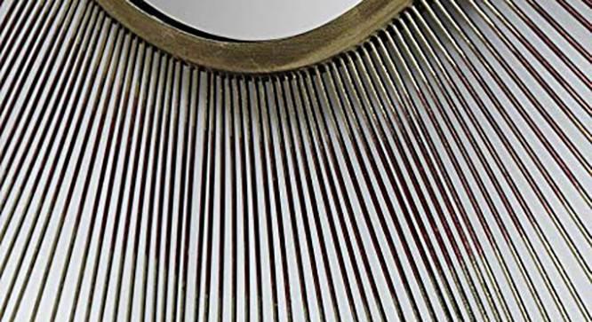 Atha Wall Mirror (Gold) by Urban Ladder - Design 1 Side View - 314837