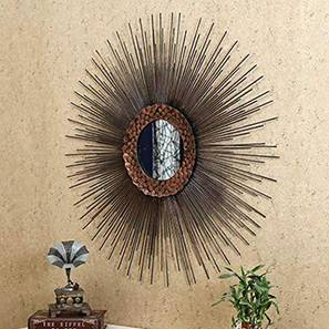 MoonSun Rays Wall Mirror by Urban Ladder - Design 1 - 314839