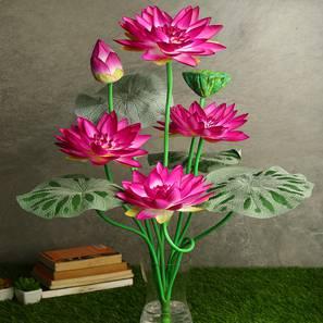 Lotus dark pink artificial flower pink lp