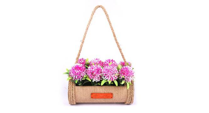 Madre Artificial Flower (Pink) by Urban Ladder - Front View Design 1 - 314886