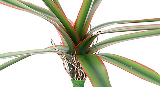 Boat Lily Artificial Plant (Red) by Urban Ladder - Design 1 Side View - 314926
