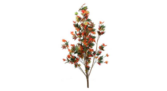 Maple Artificial Plant (Red and Green) by Urban Ladder - Front View Design 1 - 315084
