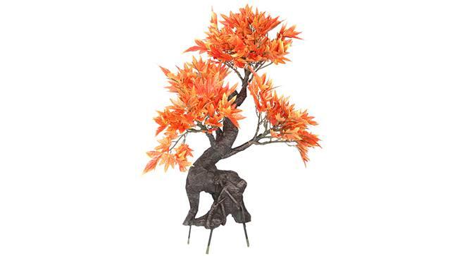 Maple Artificial Plant (Bonsai Orange) by Urban Ladder - Front View Design 1 - 315093