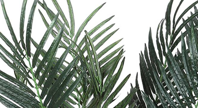 Palm Artificial Plant (Green) by Urban Ladder - Design 1 Side View - 315103