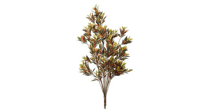 Benzo Artificial Plant (Red) by Urban Ladder - Front View Design 1 - 315108